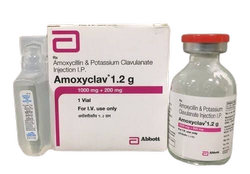 Amoxycillin And Potassium Clavulanate Injection I.P.