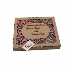 Decorative Wedding Packaging Box