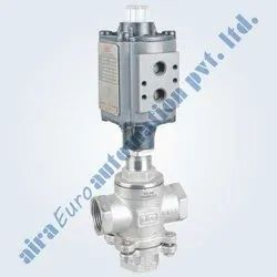 Diverting High Pressure Control Valve