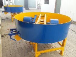 HVB Industries Pan Mixture Machine, For Construction, Capacity: 500kg