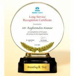 AC 8481 Felicitation Acrylic Trophy