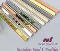Stainless Steel Decorative Profiles (T, U & L)