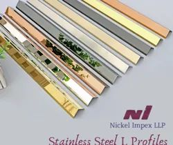 Stainless Steel Decorative Profiles (T, U & L)