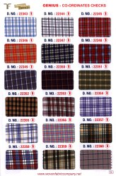 22354 School Uniform Shirting Fabric