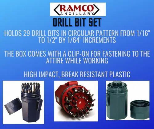 Drill Bit Set Plastic Box