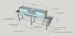 UV Vegetable Sanitization Conveyor