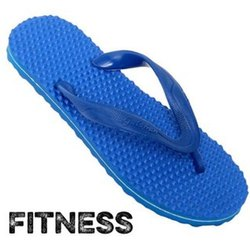 Daily Wear Fitness Acupressure Mens Rubber Slipper, Design/Pattern: Plain