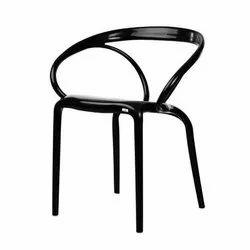 CHAIRish Curveura Black PPGF Chair