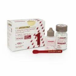 GC Gold Label 1 Luting and Lining 1-1 PKG (25g Liquid, 35g Powder)