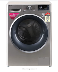 LG Fully Automatic Front Load 7.0 Kg Washing MachinesFHT1207ZNS-SS-7KG
