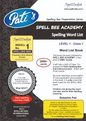 Phonics Estpre Education Spell Bee Academy : Spelling Word List For Class 1