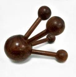 Brown Acupuncture Handicraft