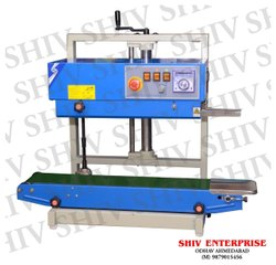 Vertical Continuous Band Sealer Machine