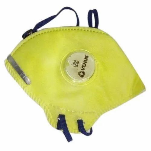 Reusable Venus N95 Mask, With Valve, Certification: Isi