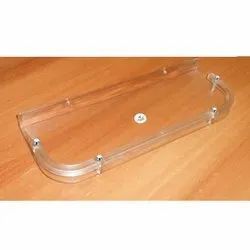 Awell Acrylic Bathroom Shelf