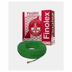 1.5 Sq Mm Finolex Flame Retardant PVC Insulated Green Cable