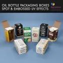 Essential Oils Packaging Boxes With UV Effects