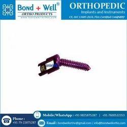 Orthopedic Titanium Reduction Screw