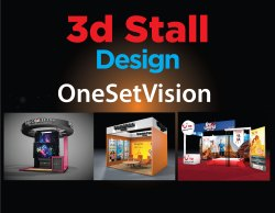 3D Stall Designing Service