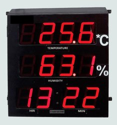Temperature & Humidity Indicator Clock