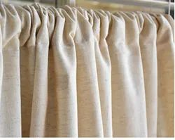 Natural Plain Cotton Curtain, For window and door