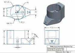 2D CAD Design Service, In Pan India