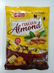 Confico Brown Italian Almond Toffees, Packaging Type: Packet