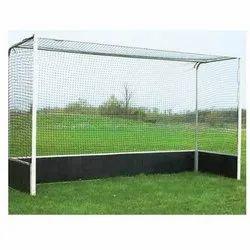 White Maaoon Field Hockey Nets, Size: 3.7m (w) X 2.1m (h) X 1.2m (d)