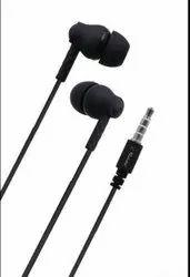 RS6 Black Earphone, Model Name/Number: RS6-56387
