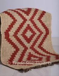 Wool Jute Kilim Rug Carpet Hand Woven Kilim Doormats 2x3 Indian Kilim Rug Carpet