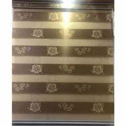 Flower Printed Zebra Blinds
