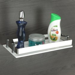 Standard WHITE Plantex Aero Rack Shelf, For General Usage
