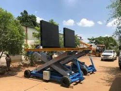 Scissor Lift Table With Tilting Platform