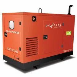 Diesel 15 KVA Silent DG Set Rental Service, For Industrial & Commercial