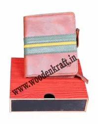 Rectangular Custom Printed Drawer Type Wallet Packing Box, Size(LXWXH)(Inches): 5.5*4.75*1.5 Inch