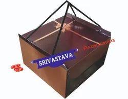 Duplex Printed Square Rassi Box, Size(LXWXH)(Inches): 8x8x5