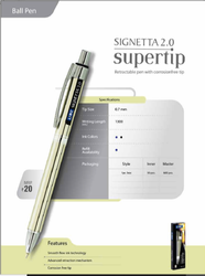 LINC Signeeta 2.0 Supertip Ball Pen
