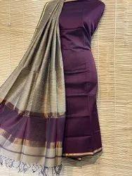 cotton silk Maheshwari jutt dupatta and top sets