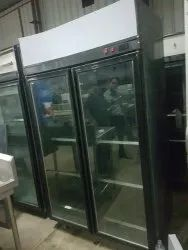 Second Hand Glass Two Door Refrigerator