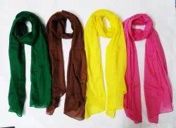Multicolor Cotton And Viscose Stoles