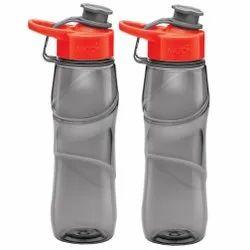 Milton Rave Unbreakable Water Bottle 750 ml Bottle Set of 2, Grey