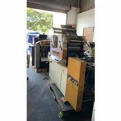 Itek 3985 Double Color Offset Printing Machine
