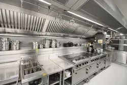 Air World Stainless Steel Commercial Kitchen Ventilation System