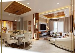 Interior Designing Service, Work Provided: False Ceiling/POP