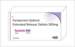 Faropenem Sodium Extended Release Tablets 300mg