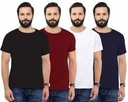 Mens Round Neck T Shirt