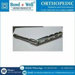 Orthopedic DHS Locking Plates Long Barrel