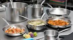 Mirror Stainless Steel Commercial Kitchen Utensils