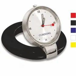 Madhurash Analog Promotional Desktop Clock, Shape: Round, Size: 56 X 9 X 56 Mm