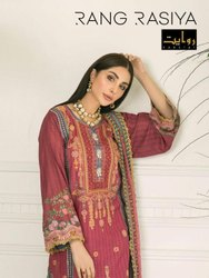 Rawayat Rang Rasiya Pakistani Style Salwar Suits Catalog